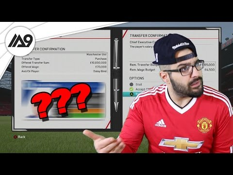 Amazing Young English Player To Manchester United - FIFA 16 Career Mode #04