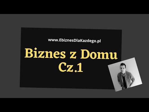Biznes z domu Cz.1 - krótka relacja wideo z pracy w biurze (lejki sprzedażowe do MLM)