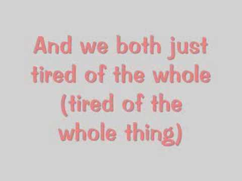 """Love on the Rocks"" - Sara Bareilles (lyrics)"