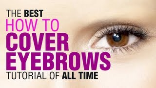 Drag Queen Tutorial : How to cover eyebrows