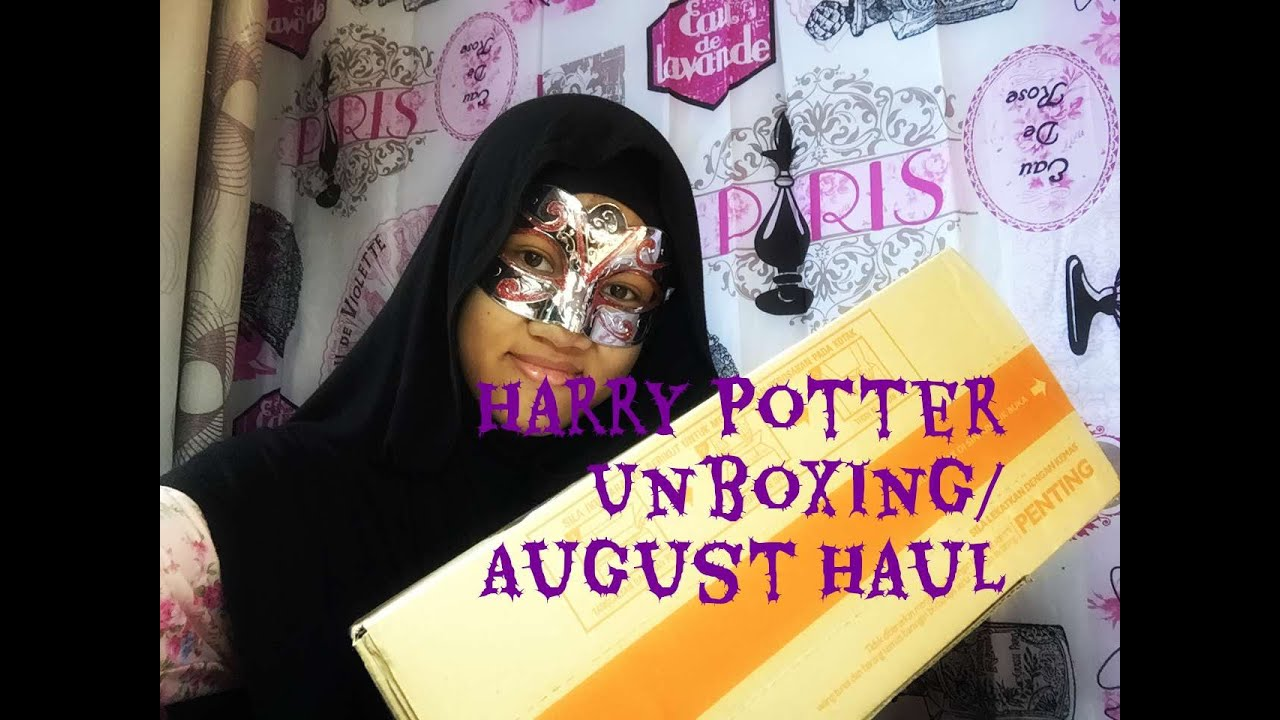 Harry Potter Book Unboxing : Harry potter unboxing august haul youtube