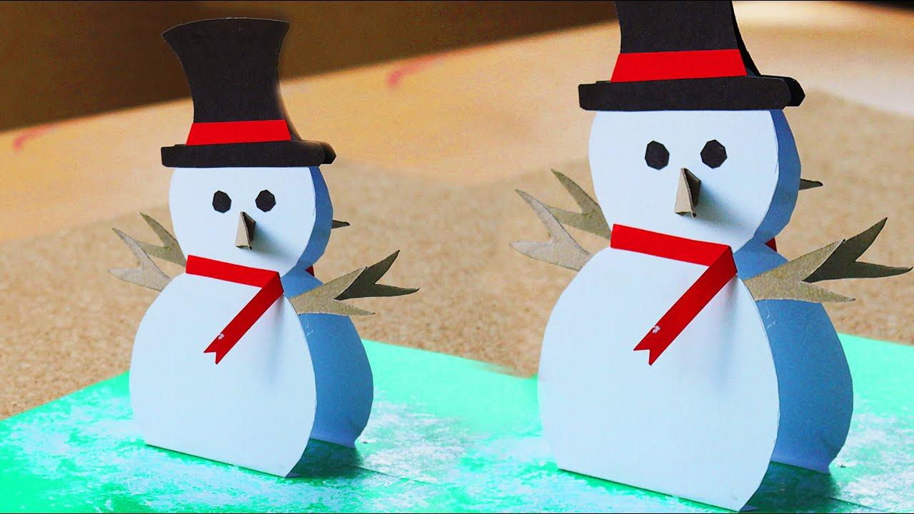 Como hacer cartita navide a pop up minitips youtube - Hacer una tarjeta navidena ...