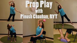 (45-min) Prop Play with Pinush - Creating a Memorable Yoga Class for your Students