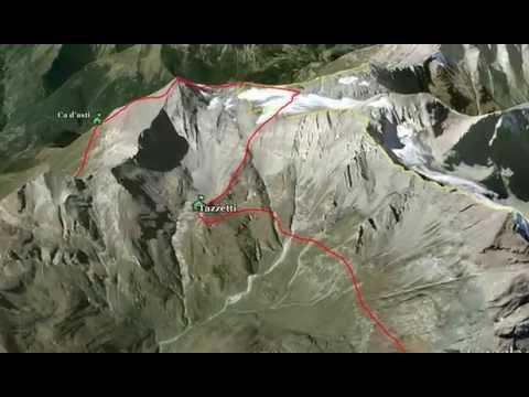 Trekking Alps Rocciamelone trekking peak