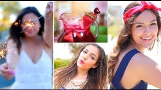 Fourth of July Outfit ideas, DIY Treats + Hair & Makeup! Thumbnail