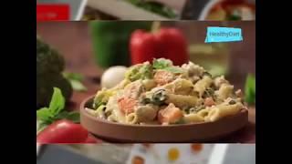 White Sauce Pasta|Veg Creamy Pasta Recipe|HealthyDiet #Jayaluk