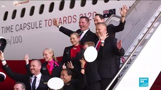 Australia's Qantas operates longest flight ever