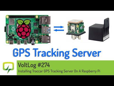 Voltlog #274 - Installing Traccar GPS Tracking Server On A Raspberry Pi