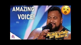 Download Strongest Man On Earth Eddie Williams SHOCKS With A Singing Audition! | Australia's Got Talent 2019 Mp3