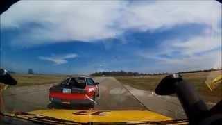 24 Hours of LeMons - #33 Ford Festiva Highlights - Gingerman Raceway