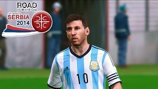 FIFA 13 - RTWC Serbia 2014 - End of CONMEBOL