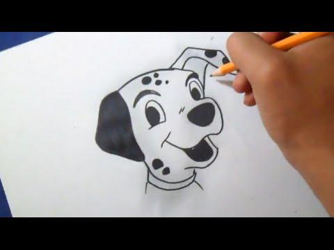 Comment dessiner Dalmatien - YouTube