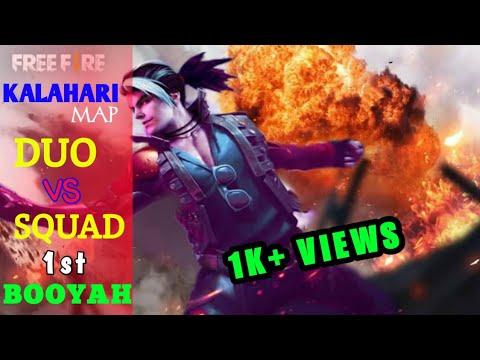 KALAHARI MAP : 1ST BOOYAH DUO VS SQUAD 9 KILLS 🔥🔥🔥।। Gaming With Santu ।।