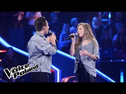 "Kamila Kiecoń vs Mateusz Wiśniewski - ""Don't Dream It's Over"" - Battle - The Voice of Poland 8"
