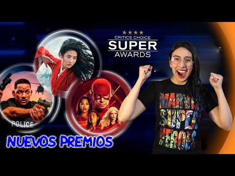 😍 CRITICS CHOICE SUPER AWARDS premiará a películas y series de superhéroes 😀 en exclusiva por TNT