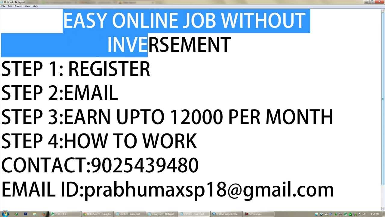 easy online job out inversement tamil aug  easy online job out inversement tamil aug 2013