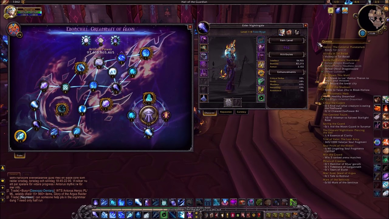 7 3 5 Frost Mage Complete Pve Pvp Guide Youtube