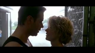 Russell Crowe y Meg Ryan en Proof of Life