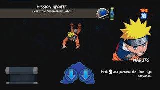 Naruto Rise of A Ninja Walkthrough Part 38 - Summoning Jutsu Training Mission Gameplay 1080p