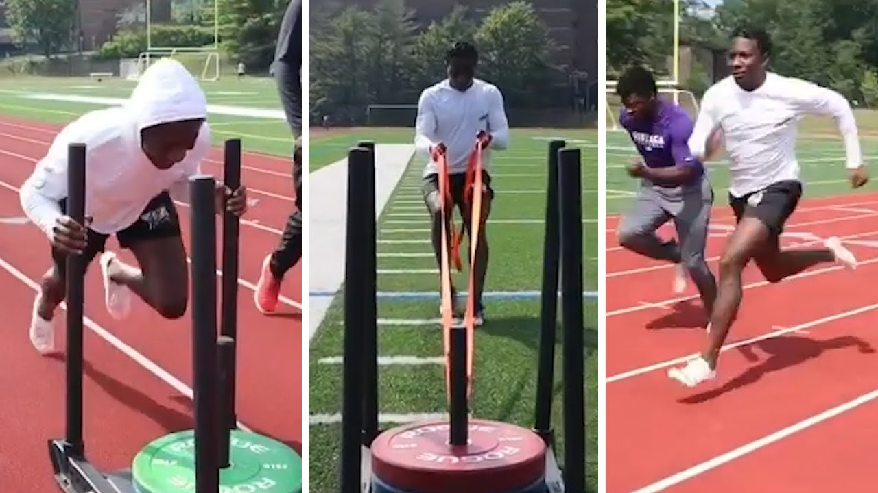 Hollywood Brown REVEALS What Workouts Help With His Speed & Explosiveness 4.3 40 Yard Dash!
