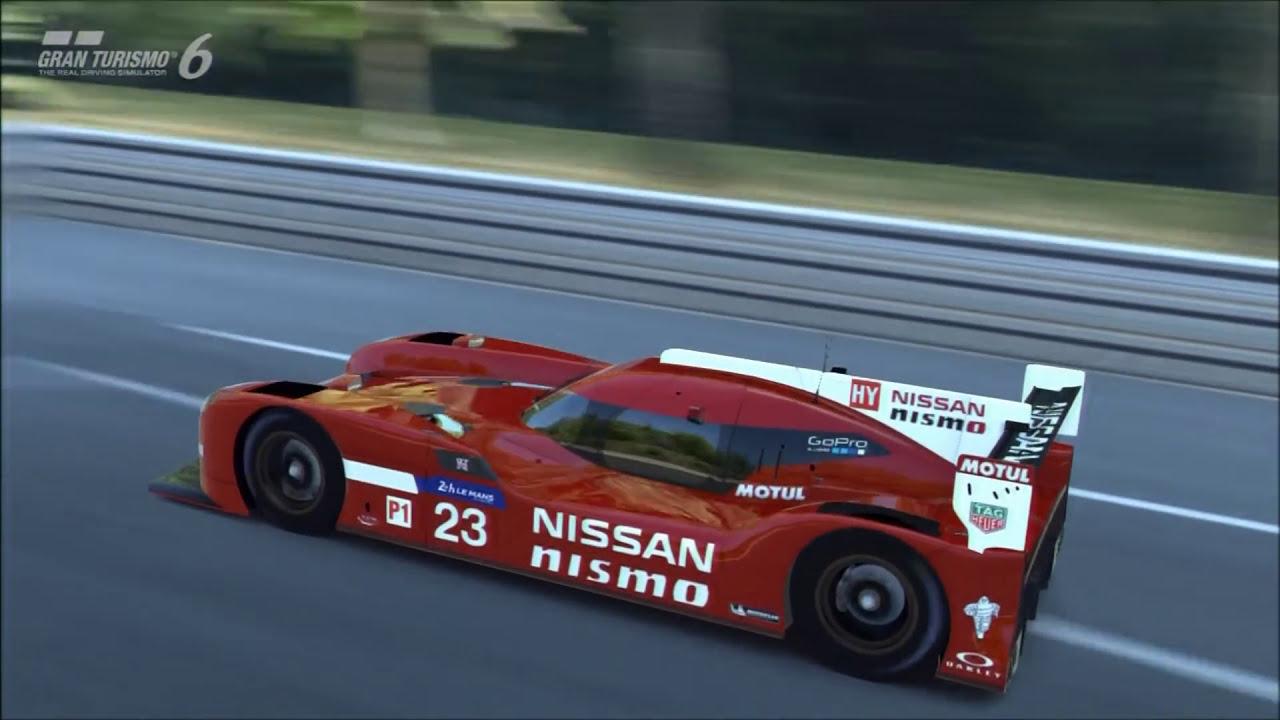 Gt6 : Leash The Beast - Nissan Gt-R Nismo Lmp1 Control Setup  :::  Hammerstudiosgaming ::: 04:40 HD