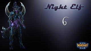 WarCraft III The Frozen Throne Hard - Ночные Эльфы Часть 6 - Осколки Альянса