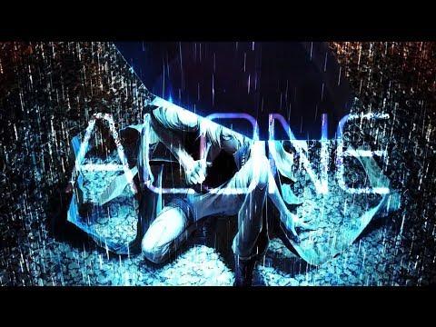 Nightcore - 「ALONE」  -    Prznt (Lyrics)