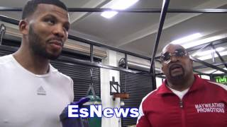 Mayweather Promotions Leonad Ellerbe On Badou Jack He's A Legend And Ronda Rousey fail to win