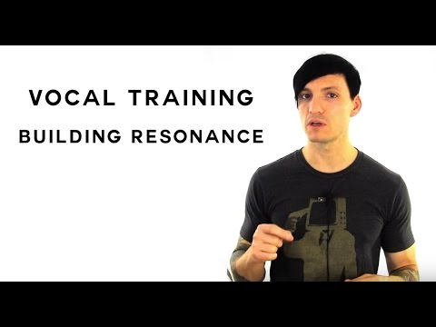 Building Pharyngeal Resonance - Vocal Training on Building Pharyngeal Resonance