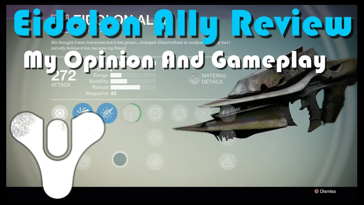 Destiny Eidolon Ally Review And Gameplay Youtube