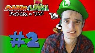 MOED BIJ ELKAAR SCHRAPEN - Mario & Luigi Partners in Time #2
