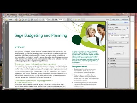 Budget and Planning (Previously Called Active Planner)
