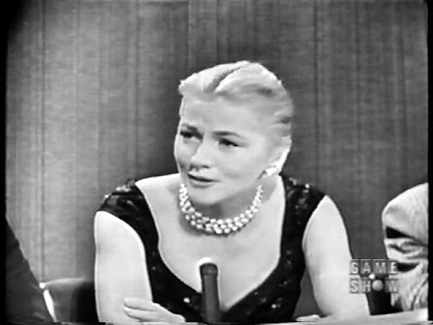 To Tell the Truth - Undercover agent; PANEL: Jim Backus, Joan Fontaine (May 13, 1958)