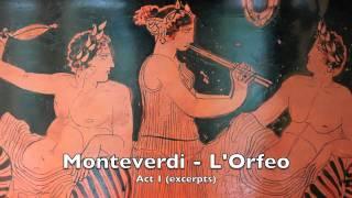 Monteverdi: Orfeo  Acte 1 excerpts (Harnoncourt)