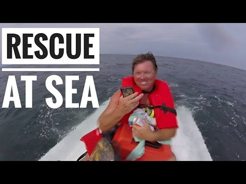 Boat Capsizes with 4 Persons Onboard, US Coast Guard Rescue, Charleston SC, Full Video