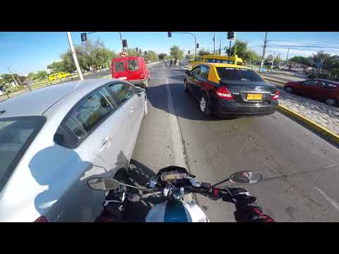 GoPro | Daily ride in santiago, Chile 0001 | Yamaha FZ