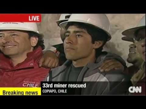 Last Trapped Chilean Miner RESCUED!!