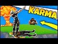 *INSTANT* KARMA IN FORTNITE (FUNNY FAILS) | NEW SCOPED AR OP?!