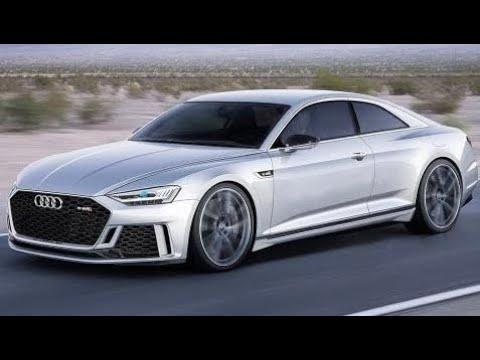 2018 Audi A8 Coupe - YouTube