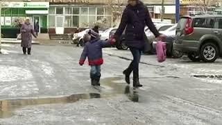 Зима в Украине будет малоснежной и без морозов