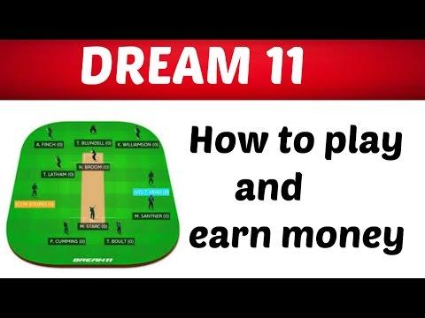 How to play Dream 11| BPL-2017 |Ind vs sri |Dream 11 Team | earn money | live cricket score