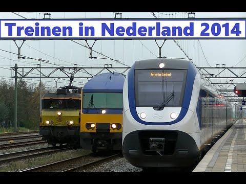 Treinen in Nederland 2014 - Trains in the Netherlands 2014