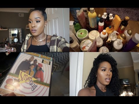 Kendrick Lamar Concert & Organizing Curly Hair Products