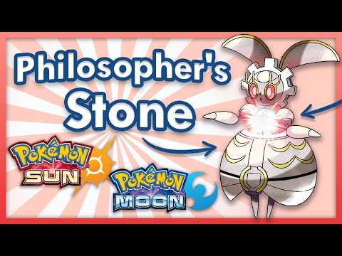Magearna is a Philosophers Stone? Pokemon Sun and Moon Theory