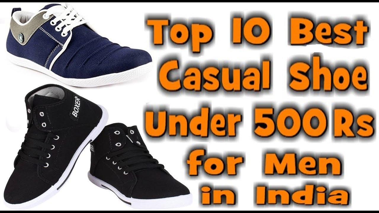 Best Casual Shoes for men under 500 Rs