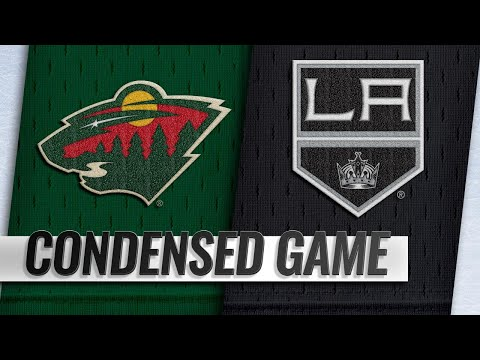 11/08/18 Condensed Game: Wild @ Kings