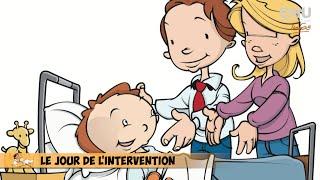 La chirurgie ambulatoire expliquée aux enfants