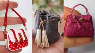 Amazing DIY Craft For Barbie ,Simple Hacks For Your Barbie,diy bag for doll