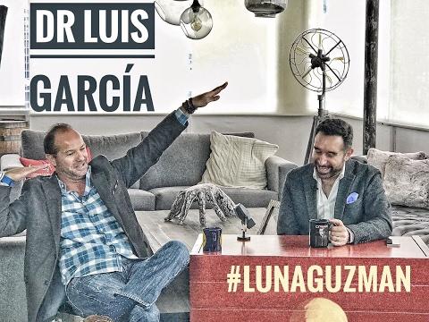 Luis García ⚽️🎙 en #LunaGuzman 🌔
