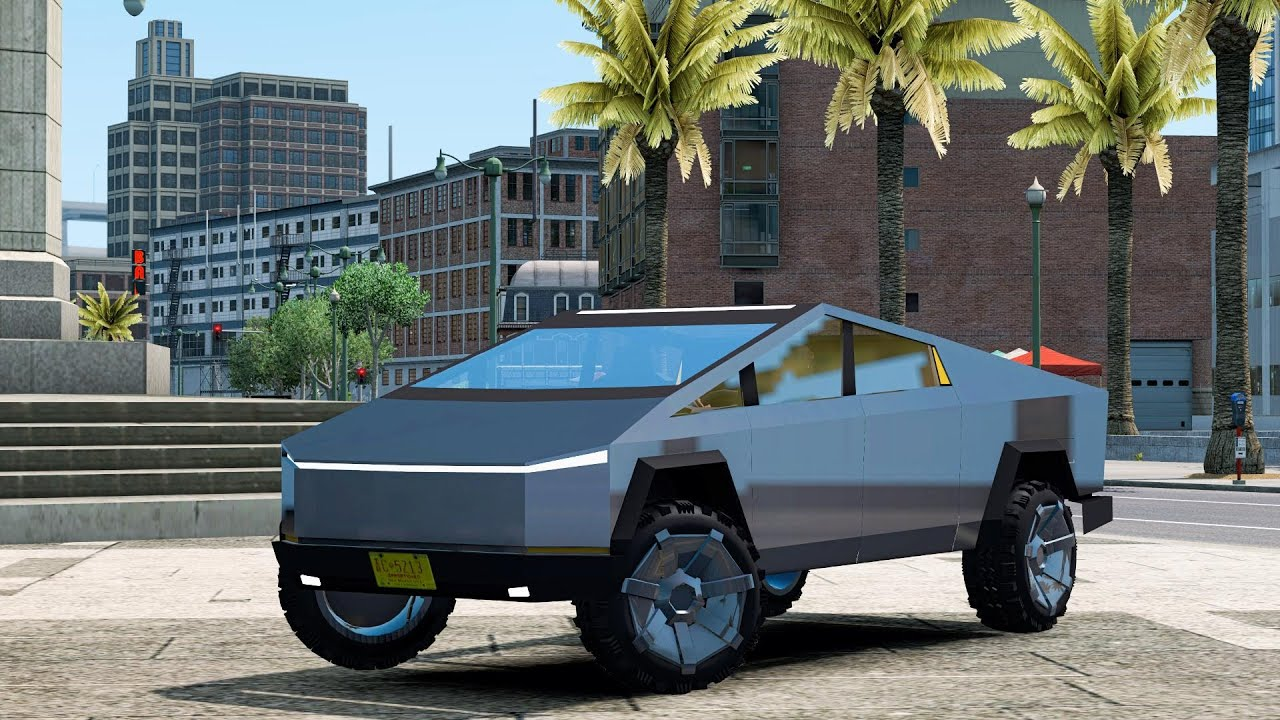 Tesla Cybertruck - ATS[1.36][American Truck Simulator]